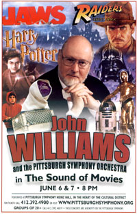 John Williams Concert poster